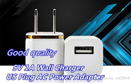 Wholesale Good Quality For iphone s Wall Charger Travel Adapter V A Home Plug Candy Colorful US Plug USB Power Wall Home Travel Charger Adapter