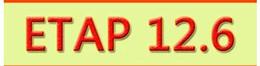 Electric power analysis software ETAP 12.6