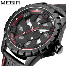 2017 new products hot style 3D stereoscopic dial watch calendar stainless steel waterproof man watch