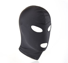 Strong Elastic Spandex Mask hood with open eyes and mouth holes, Party Mask, Cosplay hood