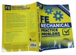 Wholesale new book FE Mechanical Practice problems