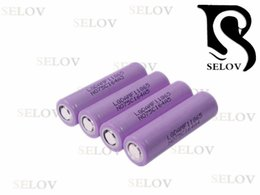 Wholesaler Li-ion type 18650 battery MF1 2200mAh 3.7V with max. 10A discharge current for-lg vape flat top