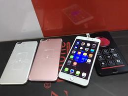 8gb tactile en Ligne-Nouvelle arrivée i7 i7plus 6.0inch grand écran tactile téléphone android 6.0 Quad core 13.0 MP ID d'empreinte digitale DHL livraison gratuite