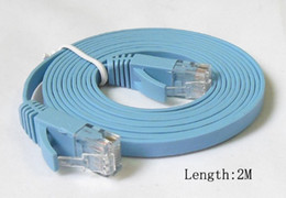 Wholesale 1M M M M M M M CAT6 RJ45 cable Flat UTP Mbps Ethernet Network Cable Networking cable For PC Router DSL Modem