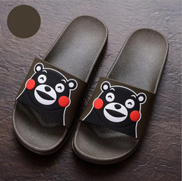 PT29 ladies shoes flip flops summer slippers women cute cartoon printed couple shoes skid resistance