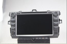 Wholesale Corolla Radio Bluetooth - 8 inch Special Car DVD Player For Toyota--Corolla(2007-2011) with GPS, IPOD, Bluetooth