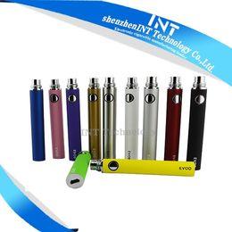 Serie ego recargable en Línea-EVOD para el cigarrillo electrónico 11 Color recargable 650mah 900mah 1100mah cabido todo el kit de la serie eGo CE4 CE5 MT3-03