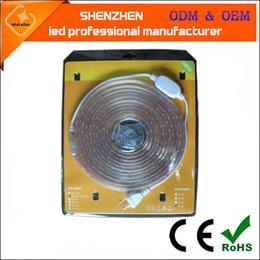 Wholesale in sets high voltage led flexible strips leds m SMD5050 V V Silicon Glue IP68 led strip lights waterproof led tape