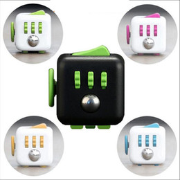 Wholesale Hot Sale High Quality Magic Cube Material ABS Size Fidget Cube Toys For Boys Girl Best Christmas Gift