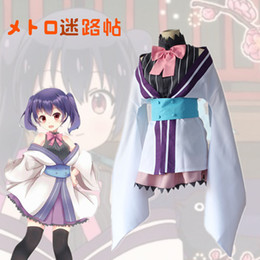 Koume Yukimi cosplay costumes kimono Japanese anime Urara Meirocho clothing Masquerade Mardi Gras Carnival costumes