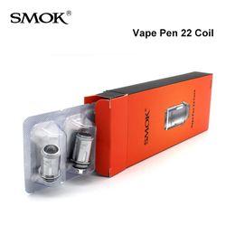 Wholesale Original SMOK Vape Pen bobina de reemplazo cabeza de núcleo ohm Sabor Chaser por paquete de SmokTech entrega rápida