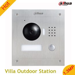 Wholesale Dahua Stainless steel pane MP Villa Outdoor Station English without Logo VTO2000A vandal proof Support mobile phone software