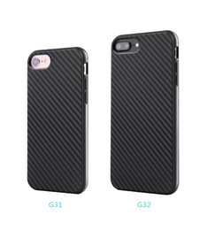 Wholesale Smart phone carbon fibre case for iphone x 5 5S 6 6S 6 plus 7 8 7 plus