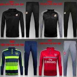 Wholesale top THAI QUALITY Real Madrid KIDS BOYS Paris soccer chandal football tracksuit training suit skinny pants Sportswear