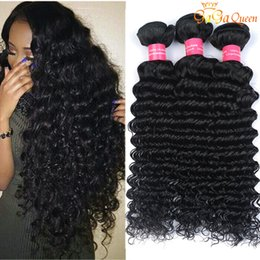24 paquets de cheveux bouclés en Ligne-4 Bundles Brazilian Deep Curly Virgin Hair Non Traité Extrants de cheveux humains brésiliens Mink Brazilain Virgin Hair Deep Wave Very Soft