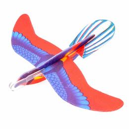 Descuento planeadores de bricolaje Venta al por mayor-pájaro planeador surtido de vuelo planadores avión de espuma avión niños niños DIY juguetes
