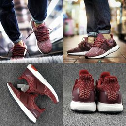 Wholesale 2017 Ultra Boost Burgundy Running Shoes For Men Women Ultraboost M W Athletic Shoes Fashion Casual Ultrals Boosts Trainers