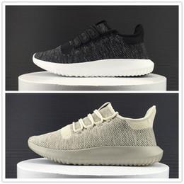 Wholesale Venta al por mayor Tubular Shadow D zapatos corrientes hombres de las mujeres Boost Fly línea de deportes al aire libre de alta calidad Knit Zapatillas tamaño