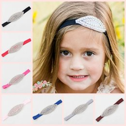 12 colors crystal Flower Girl Headband Rhinestone - Headbands for Girls - Girls Headbands