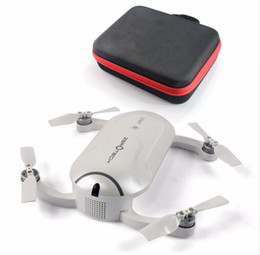 Promotion gps quadcopter fpv Plus nouveau ZEROTECH Dobby Pocketable Drone FPV Pocketie avec 4K caméra HD GPS Solution Smart RC Quadcopter APP Control F19092-B