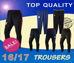Wholesale Chelseas and Romas and Athletic Madrids Football pants soccer training pants legs track pants sports trousers leg pant