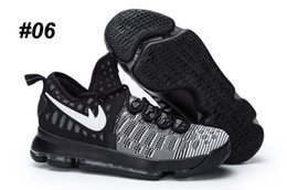 Acheter en ligne Kds blanc-2017 Kd 9 Chaussures de basket-ball Sneakers Runing Kevins Kds VIIII Lowe Elite blanc Durant Hommes Replica Kd9 Zapatillas Deportivas Chaussures de sport
