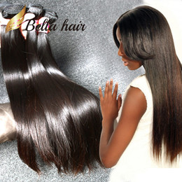 Natural Black Color Indian Silky Straight Hair 3 Bundles Raw Human Hair Free Shipping