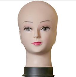 Free shiping Women Mannequin Head Hat Display Wig training model femal head model