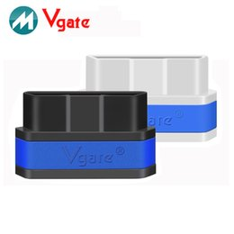 Wholesale 100 original VGATE ICAR2 SUPER MINI WIFI OBD2 ELM327 support Andrews IOS wireless connection
