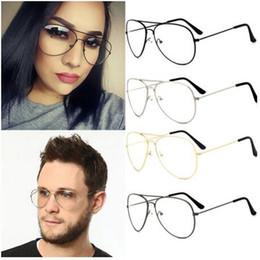 New Fashion Men Women Sunglasses Oversize Anti Reflective Lenses Plain Mirror Glasses Frame Vintage Goggles Unisex Computer Glasses