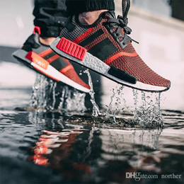 2017 Cheap Wholesale 2017 New NMD R1Runner PK Primeknit Men's & Women's Hot Sale Sports Basketball Shoes Fast Ship Top Quality With Box