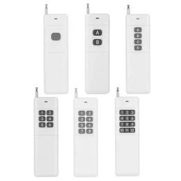Control remoto 315 en Línea-200-3000m 1CH 2CH 4CH 6CH 8CH 12CH 1 2 4 6 8 12 CH Transmisor de control remoto RF 315 / 433.92 Distancia de larga distancia de alta potencia