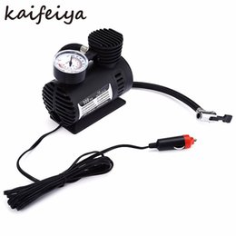 Wholesale Mini Portable DC V Electric Auto Car motorcycle Inflatable Pumping Air Pumps Compressor PSI Airpumps