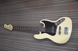 Compra Online Cuerdas custom shop-Guitarra baja eléctrica de encargo del jazz de la alta calidad de la tienda de la guitarra de la guitarra baja de la secuencia del color 5 del helado del envío