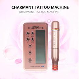 Wholesale Newest Permanent Makeup Digital Charmant Machine Eyebrow Embroidery Tattoo Micro Blades Multifunction Eyebrow Embroidery Microblading Machin
