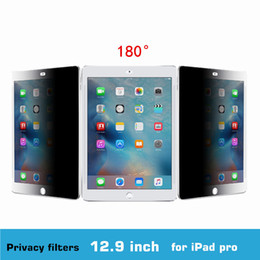 Wholesale 3M Quality inch PET material Degree Tablet PC Privacy Filter Screen Protector for iPad Air Aro mmx301mm