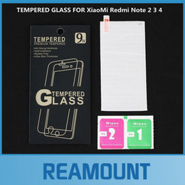 300pcs For Xiaomi Redmi Note 2 3 4 Tempered Glass Screen Protector Toughened Protective Film For Xiomi Hongmi Note 2 Note2 5.5inch