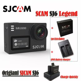 "Original SJCAM SJ6 LEGEND 4K 24fps Ultra HD Notavek 96660 Waterproof Sports Action Camera 2.0"" Touch Screen Mini Sports DV(Black)"