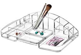 Wholesale Acrylic Desktop Storage Box Cosmetics Brush Tool Organizer lipstick Nail Polish Jewelry Cosmetic Storage Display Box Holder
