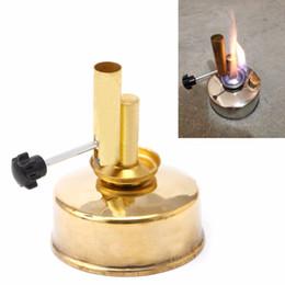 Wholesale Brass Alcohol Lamp Blow Torch Alcohol Blast Burner ml Lab Equipment Heating