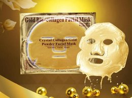Gold Bio -Gold Powder Collagen Crystal Facial Mask Moisture Face Mask free shipping