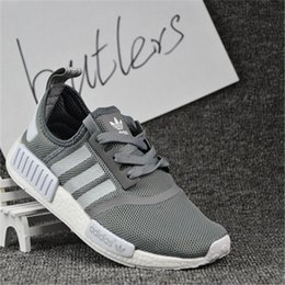 Wholesale 2017 Adidas Originals New NMD Runner PK Primeknit Best Selling Men s Women s Running Shoes Fashion Running Sneaker Men Cheap With Box