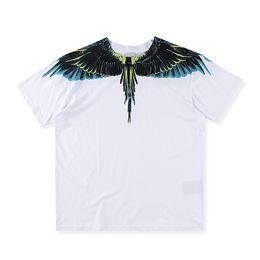 EU Size 2017 High Quality Marcelo Burlon Swing T-Shirts 1:1 Men Women 100% Cotton Casual Tee O-neck Italy Marcelo Burlon T-shirt