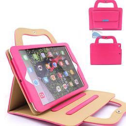 Air en cuir libre à vendre-Ipad Case Etuis en cuir pour Ipad 2/3/4/5 Mini 1/2 Mode Design Colorful Ipad Cases Livraison gratuite