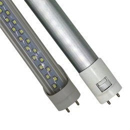 T8 G13 4ft 8ft 28W 60W Double Row Led Tube 1.2m 2.4m SMD 2835 85-265V 4FT 8FT 1200mm led tubes fluorescent Lighting ce rohs UL
