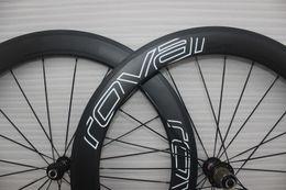 Wholesale 60mm carbon bicycle wheel mm wide h UD Matt high TG resin basalt braking surface front or rear bike rims for road Track OEM