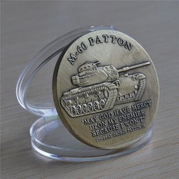 Wholesale U S Army M Patton Battle Tank Armored Weapon Challenge Coin