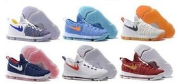 Promotion kds blanc 2016 Kd 9 Chaussures de basket-ball Sneakers Runing Kevins Kds VIIII Lowe Elite blanc Durant Hommes Replica Kd9 Zapatillas Deportivas Chaussures de sport