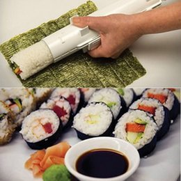 Wholesale 2017 IN STOCK Camp Chef Sushezi Roller Kit DIY Sushezi Sushi Bazooka Cooking Tools Easy to Use Sushi Tools Cheap DHL Only days