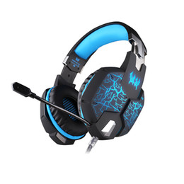 CHAQUE G1100 Vibration Function Professional Gaming Jeux casque Casque avec Mic Stereo Bass Breathing LED Light pour PC Gamer à partir de fabricateur
